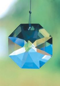 Crystal~Bagua 20 Clear Swarovski Rainbow Hanging Crystal-A stunning array of dancing light